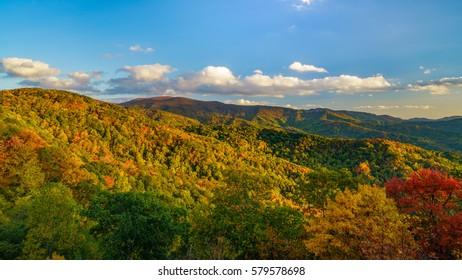 Cherohala Skyway, Appalachian Mountains, Tennessee and North Carolina