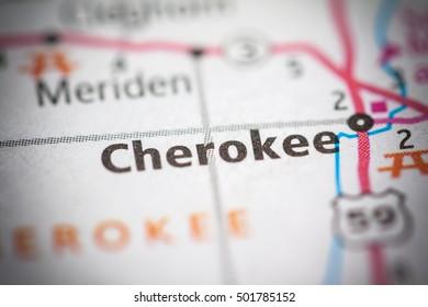 Cherokee. Iowa. USA.