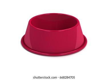 Cherry Empty bowl pet food