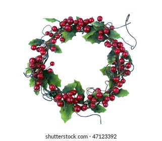 cherry framework of christmas decorations