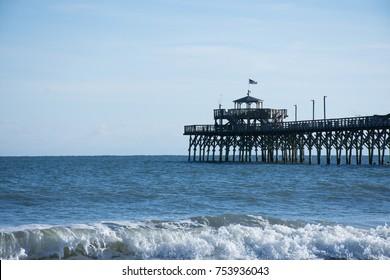 Cherry Grove Pier in North Myrtle Beach South Carolina