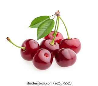 cherry isolated