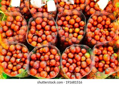 Cherry from organic farm of tribe in Tak,Thailand