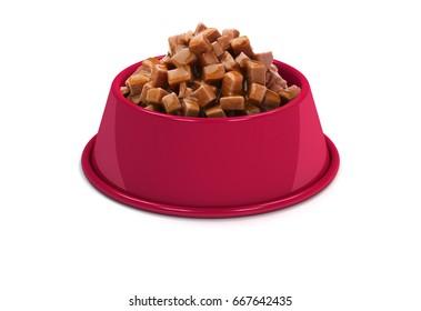 Cherry Pet food Bowl