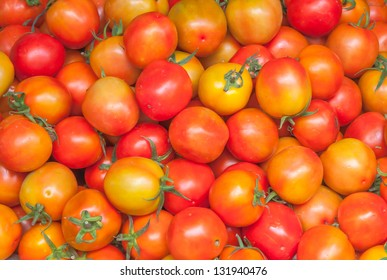 a lot of Cherry tomatoes background