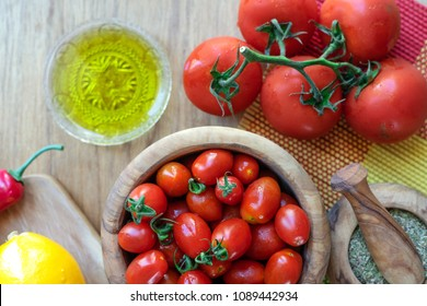 Cherry tomatoes vegetables
