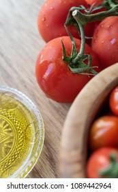 Cherry tomatoes vegetables