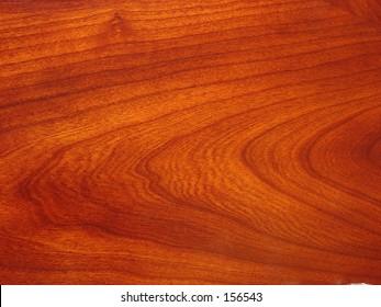 Cherry wood.