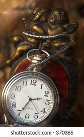 Cherubs and Pocket Watch