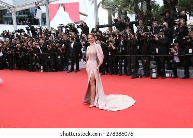 Cheryl Fernandez-Versini attends the Premiere of 'Irrational Man' during the 68th annual Cannes Film Festival on May 15, 2015 in Cannes, France.