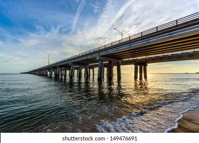 Chesapeake Bay Bridge - Virginia Beach side