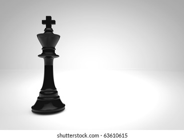 chess black king