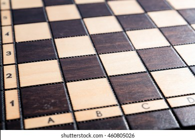Chess board.