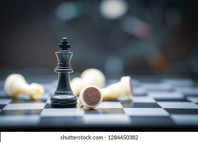 chess board game for Leadership Concepts