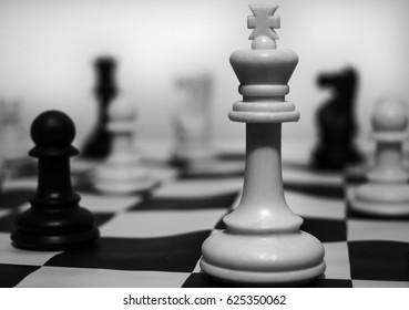 Chess / chess game / in the picture there is the queen in the chess game