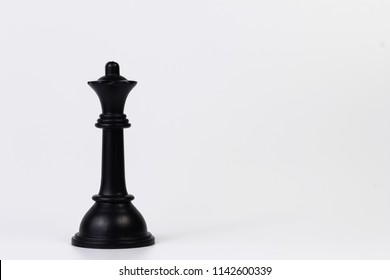 chess games or chess pieces on white background