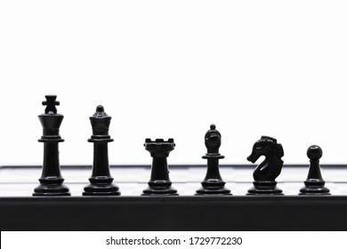 Chess isolated in white background