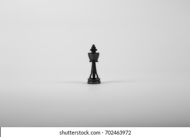 Chess King on a white background.
