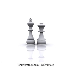 Chess - King and Queen