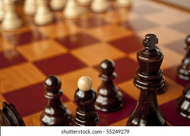 Chess - Macro shot
