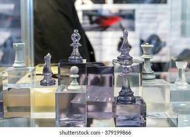 Chess made of composite materials