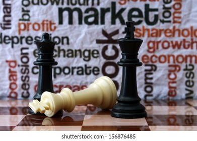 Chess and market concept