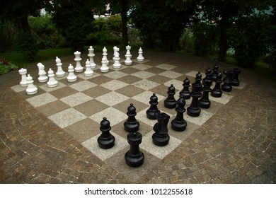 Chess in the park