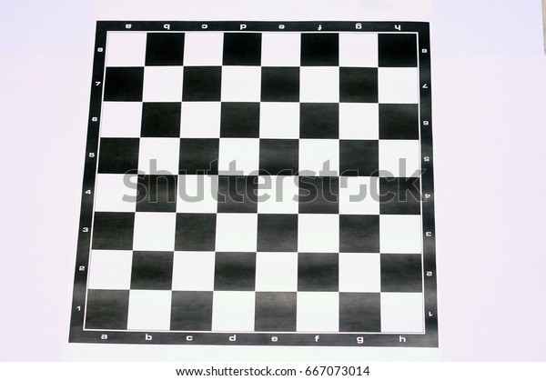 Chess Pieces Board Layout Stock Photo (Edit Now) 667073014