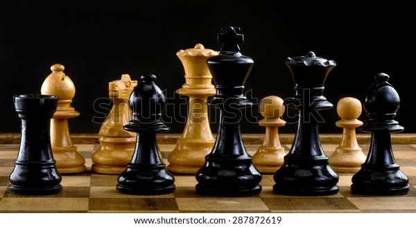 Chess players a game of war.