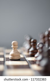 chess studio shot