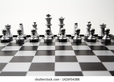Chess Board White Background Images, Stock Photos & Vectors