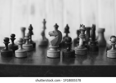 chessboard, and chess pieces, game