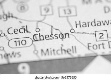 Chesson. Alabama. USA