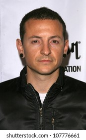 Chester Bennington  at the 4th Annual MusiCares MAP Fund Benefit Concert. The Music Box, Hollywood, CA. 05-09-08