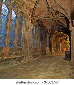 Chester Cathedral Corridor