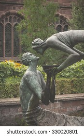 Chester Cathedral Fountain