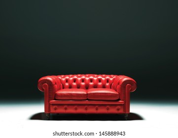 a chester sofa studio isolated