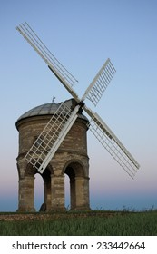 Chesterton windmill under a blue sky