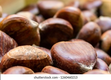 Chestnuts for sale in London's Borough Market