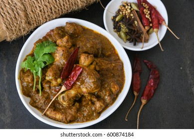 Punjabi Chicken Curry Images Stock Photos Vectors