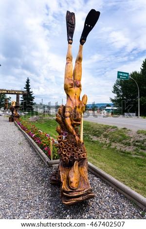 Denius parson chainsaw sculpture commissions by design chainsaw