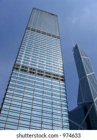 Cheung Kong Centre & Bank of China Tower in Hong Kong