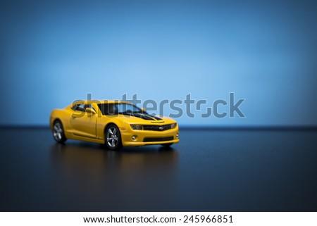 Chevrolet Camaro Toy Car Product Shot Stock Photo Edit Now