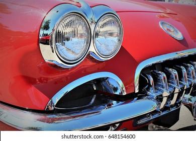 Chevrolet Corvette C1 Sting Ray  - Kaunitz/Germany - 2017 May 27.