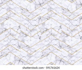 White Tile Chevron Stock Photos, Images & Photography