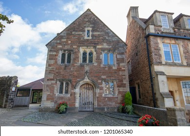 Chew Magna, UK: October 09, 2018: The Old School room  South Parade  Chew Magna  BS40 8SH