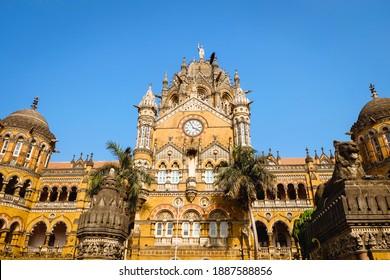 Chhatrapati Shivaji Maharaj Terminus Railway Station is a historic terninal train station and UNESCO World heritage Site in Mumbai, Maharashtra, India.