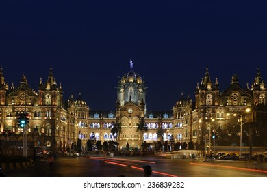 Chhatrapati Shivaji Terminus (CST) formerly Victoria Terminus in Mumbai, India is a UNESCO World Heritage Site and historic railway station which serves as the headquarters of the Central Railway.