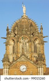 The Chhatrapati Shivaji Terminus, formerly known as Victoria Terminus, is the headquarters of the Victoria Terminus in Mumbai, India. (UNESCO World Heritage Site.)