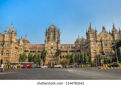 Chhatrapati Shivaji Terminus railway station (CSTM) earlier known as Victoria Terminus is a busiest historic railway station. It is UNESCO World Heritage Site in Mumbai, Maharashtra, India.